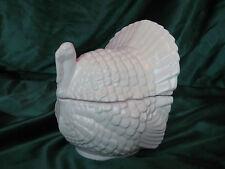 """NEW USA Ceramic Turkey Bowl Satin Glaze Holds 3 Cup 7""""tall 6""""wide """"My Way"""""""