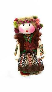 Ukrainian National Ethnographic Toys - COSTUMED DOLL Soloha