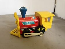 Toot Toot Train Fisher Price Toy Vintage Fisher Price Toy Train