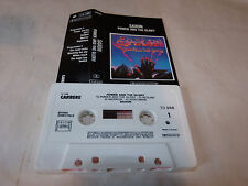 SAXON - K7 audio / Audio tape !!! POWER AND THE GLORY !!! FRENCH PRESSING