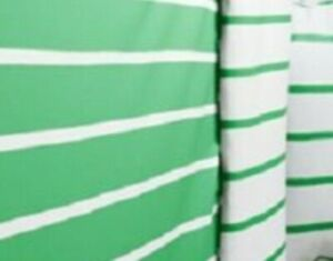 IKEA Tuvbracka Green Twin Duvet Cover Set Pillowcase White(AskDiscntOn2nd)Stripe