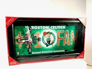 BOSTON CELTICS NBA Quartz Clock- Brand New Sealed!