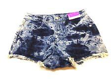 Mossimo Womens Size 0/25 Acid Wash Cut Off High Rise Denim Short Shorts New