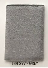 "Foam Gray  Suede Stretch Headlining Foam Backed Fabric 60"" Wide 3 yards"
