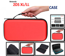 RED -Carry Storage Hard Protective [HANDLE] Case For New Nintendo 2DS XL/LL Game