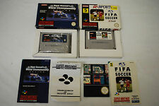 Racing Nintendo SNES Football Video Games