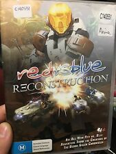 Red Vs Blue Reconstruction ex-rental region 4 DVD (sci-fi animation)
