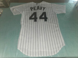 Adult 44 Clean Jersey Chicago White Sox Majestic Authentic JAKE PEAVY White