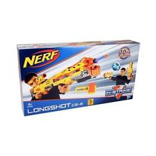 Hasbro 2in1 Nerf N-Strike Longshot CS-6 Blaster mit Darts 102449