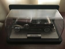 1930 Deusenberg J Derham Tourster Diecast Model 1:24 scale Franklin Mint - 1987
