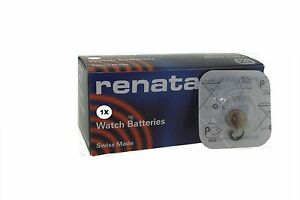 Renata 377 SR626SW 1.55v Ossido D'Argento Batteria Orologio - Confezione Di 50
