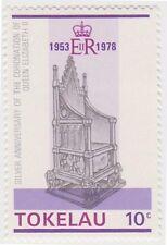 (T39) 1978 TOKELAU 10c king Edward chair ow62