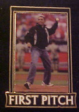 BARACK OBAMA ALL STAR GAME FIRST PITCH WILLABEE & WARD COMMEMORATIVE SERIES PIN