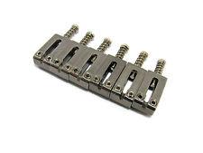 Stainless Steel Saddle Set - 52.5mm Spacing Guitar Bridge / Tremolo (set of 6)