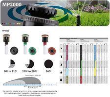 5 Buses MP ROTATOR 2000 Rotative Arroseur HUNTER Réglable 210°>270° / 4>6,4m