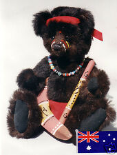 """BINDI"" BABY ABORIGINE PATTERN by KYMPATTI BEARS AUST."