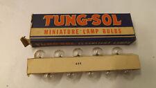 10 Tung Sol Lamp Bulbs #13  3.8V .3 A NOS VTG Screw Base Radio Flashlight 13