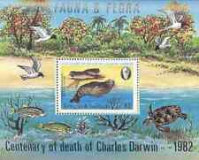 Timbre Faune marine Antigua et Barbuda BF63 ** lot 16135