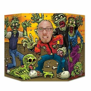 Zombie Photo Prop Decorating Kit