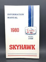 1980 Cessna Skyhawk Model R172N Information Manual