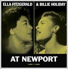 Ella Fitzgerald / Billie Holiday AT NEWPORT Live Recordings 180g NEW VINYL LP