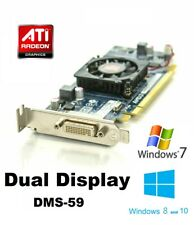 AMD Radeon Low Profile HD6350 512MB DDR3 DMS-59 Graphics Card PCI E Dual Display