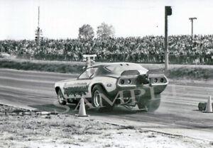 "4 x 6""  Of The Funny Car WARLORD Racing At Detroit Dragway® 1968"