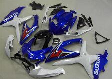 Injection Mold 08 09 For Suzuki GSXR600-750 K8 K9 Motor Fairing Bodywork Blue