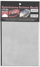 Scale Motorsport Upholstery Pattern Decals, American Plaid Pattern 1/24 1963 ST