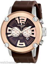 MULCO Men's Analog Display Japanese Quartz Brown Watch MW2-6263-033