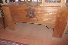 gr. spät- gotische Stollentruhe  aus d. Münsterland