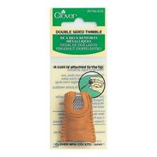 Clover Thimble Leather Coin Double Sided