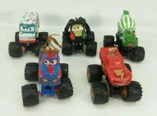 Disney Cars Toon Monster Trucks I-Screamer Rasta Paddy Tormentor - damaged lot