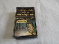UNFORGETTABLE SONGS BY NAT KING COLE  CASSETTE  TAPE