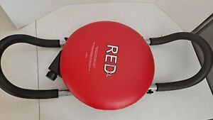 Red XL Fitness Abdominal Exercise Chair Core Rotation Body Fitness Seat Only