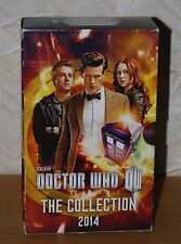 Doctor Who The Collection 2014 Three Paperback Book Boxed Set Good Condition