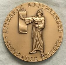 MACO. Lutheran Brotherhood Insurance Society Distinguished Service Award Medal