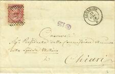 GG191-MARCHE, CAMERINO, NUMERALE A PUNTI PER CHIARI, 1868