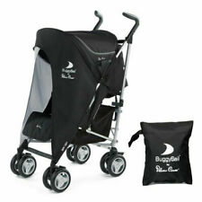 Silver Cross Buggy Sail Black Grey Baby Stroller Pushchair SPF 50 Sun Cover