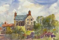 John A. Case - 20th Century Watercolour, A Summer Garden
