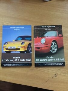 Porsche 911 964 & 993 ULTIMATE BUYERS GUIDE Peter Morgan JOB LOT BOTH BOOKS NEW!