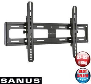 "Sanus VMPL50A TV Wall Mount Tilting 32-85"" 68kg RRP $199"