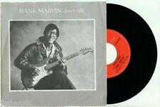 "HANK MARVIN (Shadows) Don't Talk / Life Line"" 1982 BELGIUM POLYDOR PS 7""/45"