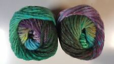 Noro Kureyon #389 River Birch - Green Blue & Plum Mix
