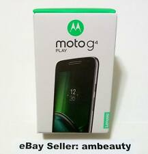 "Factory Unlocked GSM CDMA Moto G G4 Play XT1607 4th Gen 4G 5"" 16GB Black(No Ads)"