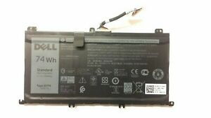 11.1V 74Wh Laptop Battery For Dell Inspiron 15 7559 7567 Type 357F9 71JF4