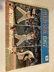 1967 MLB Baseball Boston Red Sox Revised Yearbook