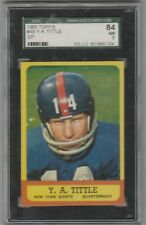 1963 Topps #49 SP Y.A. YA Tittle SGC 7 84 Near Mint New York Giants Hall Fame