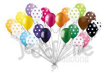 24pc Bright Colorful Polka Dot Latex Balloons Party Decoration Birthday Carnival