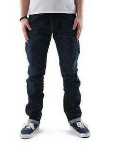 JEANS EDWIN HOMME ED 55 RELAXED (Red Listed Selvage Blue Burner Wash)   W31 L32